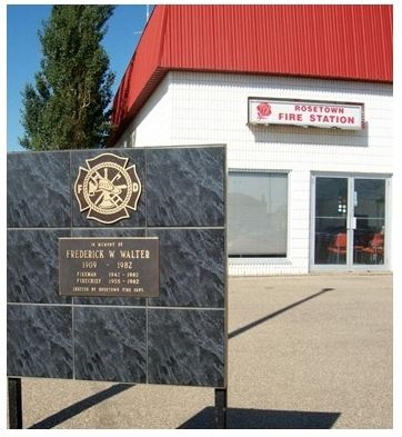Rosetown Fire Department building